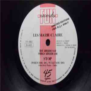 Les Marie Claire - Stop (When You Do, What You Do) download mp3 album