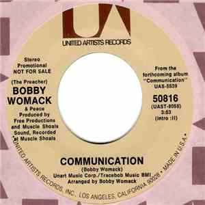 (The Preacher) Bobby Womack & Peace  - Communication download mp3 album