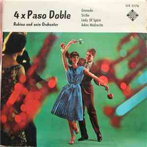 Rubino Und Sein Orchester - 4 X Paso Doble download mp3 album