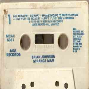 Brian Johnson - Strange Man download mp3 album