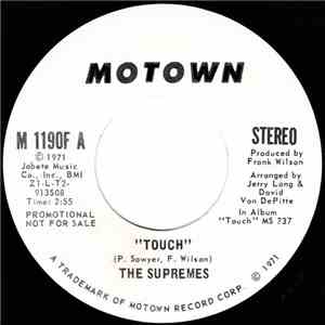 The Supremes - Touch download mp3 album