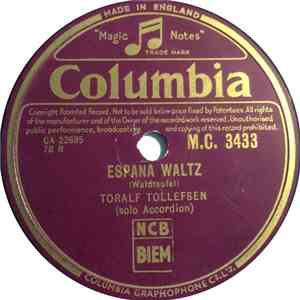 Toralf Tollefsen - Espana Waltz / Sleeping Beauty Waltz download mp3 album