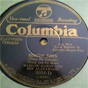 Marlow Hardy And His Alabamians - Georgia Pines / Song Of The Bayou download mp3 album