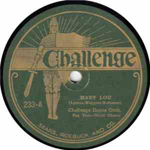 Challenge Dance Orch. / Memphis Melody Players - Mary Lou / Song Of The Wanderer download mp3 album