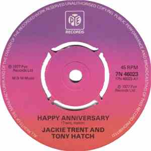 Jackie Trent & Tony Hatch - Happy Anniversary download mp3 album