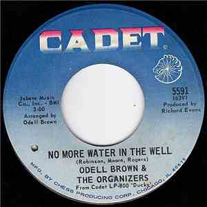 Odell Brown & The Organizers - No More Water In The Well/The Look Of Love download mp3 album