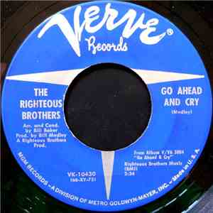 The Righteous Brothers - Go Ahead And Cry download mp3 album