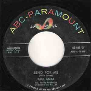 Paul Anka - Send For Me / Happy tears download mp3 album