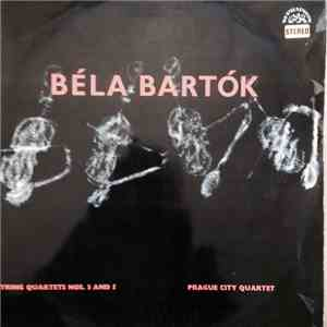 Prague City String Quartet, Béla Bartók - String Quartets Nos. 3 And 5 download mp3 album