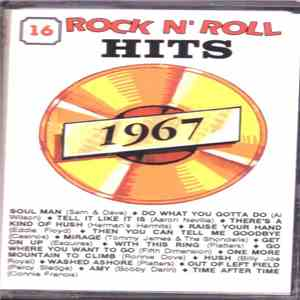 Various - 16 Rock N'Roll Hits - 1967 download mp3 album