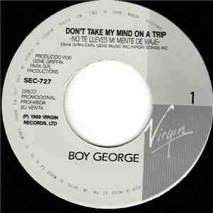 Boy George - Don't Take My Mind On A Trip download mp3 album