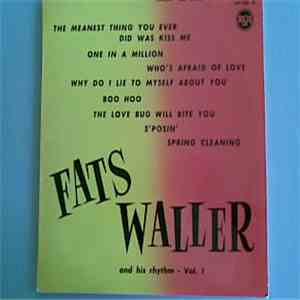 Fats Waller And His Rhythm - Fats Waller And His Rhythm - Vol. 1 download mp3 album