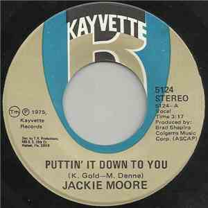 Jackie Moore - Puttin' It Down To You / Never Is Forever download mp3 album