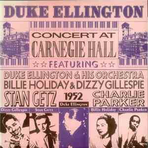 Duke Ellington - Concert At Carnegie Hall download mp3 album