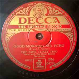 Jane Turzy Trio - Good Morning Mr.Echo / Bing Bong Bing download mp3 album