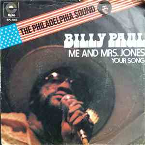 Billy Paul - Me And Mrs. Jones / Your Song download mp3 album