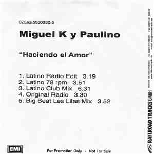 Miguel K Y Paulino - Haciendo El Amor download mp3 album