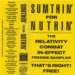 Various - Sumthin' For Nothin' The Relativity Combat In-Effect Freebie Sampler download mp3 album