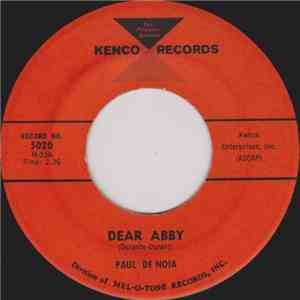 Paul De Noia - Dear Abby / Maureen download mp3 album