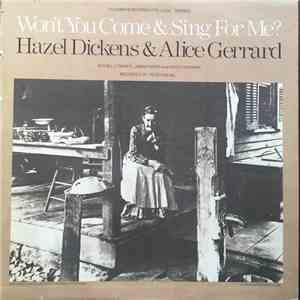 Hazel Dickens And Alice Gerrard - Won't You Come & Sing For Me? download mp3 album