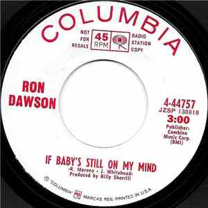 Ron Dawson - If Baby's Still On My Mind download mp3 album