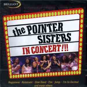 The Pointer Sisters - In Concert!!! download mp3 album