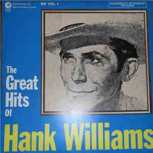 Hank Williams - The Great Hits Of Hank Williams download mp3 album