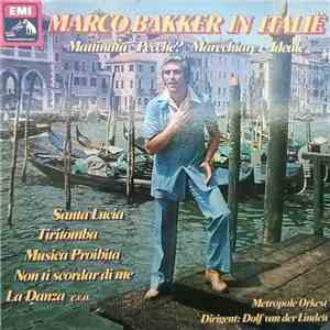 Marco Bakker - Marco Bakker in Italië download mp3 album