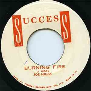 Joe Higgs - Burning Fire download mp3 album