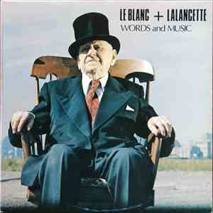 Le Blanc + Lalancette - Words and Music download mp3 album