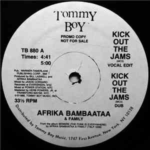 Afrika Bambaataa & Family - Kick Out The Jams download mp3 album