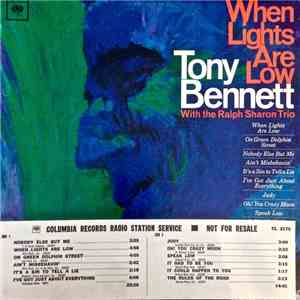 Tony Bennett With The Ralph Sharon Trio - When Lights Are Low download mp3 album