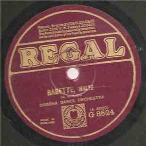 Corona Dance Orchestra - Babette / Sunny Havana download mp3 album