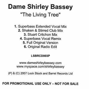 Dame Shirley Bassey - The Living Tree download mp3 album