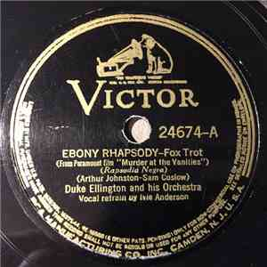 Duke Ellington And His Orchestra - Ebony Rhapsody / Saturday Night Function download mp3 album