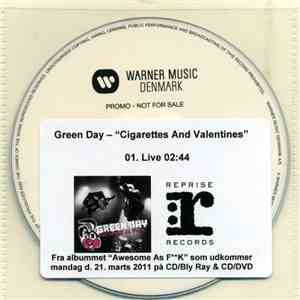 Green Day - Cigarettes And Valentines download mp3 album