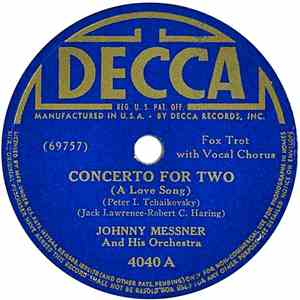 Johnny Messner And His Orchestra - Concerto For Two download mp3 album