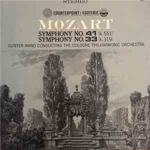 Mozart - Symphony No. 41 (K.551) Symphony No. 33 (K.319) download mp3 album