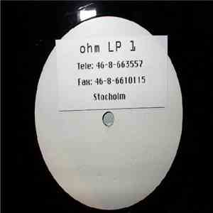 Various - Ohm Records Stockholm - Ultimate Techno Frequences download mp3 album