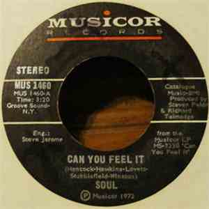 Soul - Can You Feel It / Love, Peace And Power download mp3 album
