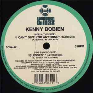 Kenny Bobien - I Can't Give You Anything / Blessed download mp3 album