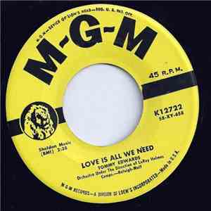 Tommy Edwards - Love Is All We Need / Mr. Music Man download mp3 album