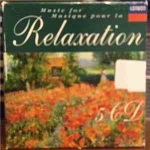 Various - Music For Relaxation = Musique Pour La Relaxation download mp3 album