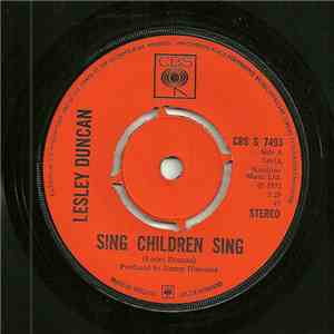 Lesley Duncan - Sing Children Sing download mp3 album