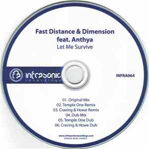 Fast Distance & Dimension  Feat. Anthya - Let Me Survive download mp3 album