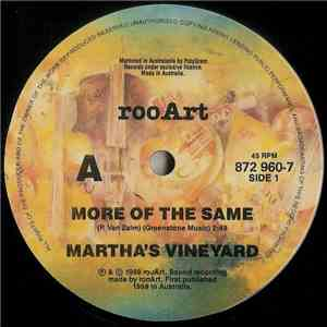 Martha's Vineyard - More Of The Same download mp3 album