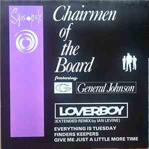 Chairmen Of The Board Featuring General Johnson - Loverboy (Extended Remix) download mp3 album