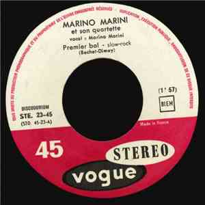 Marino Marini Et Son Quartette - Premier Bal download mp3 album
