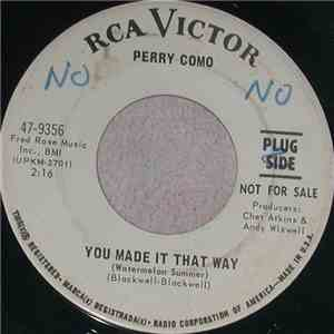 Perry Como - You Made It That Way / What Love Is Made Of download mp3 album