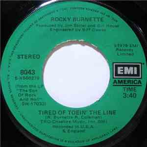 Rocky Burnette - Tired Of Toein' The Line / Boogie Down In Mobile, Alabama download mp3 album